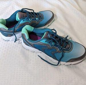 Fila Cool Max Teal Tennis Shoes, Sz 11 US